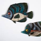 Raku angel fish